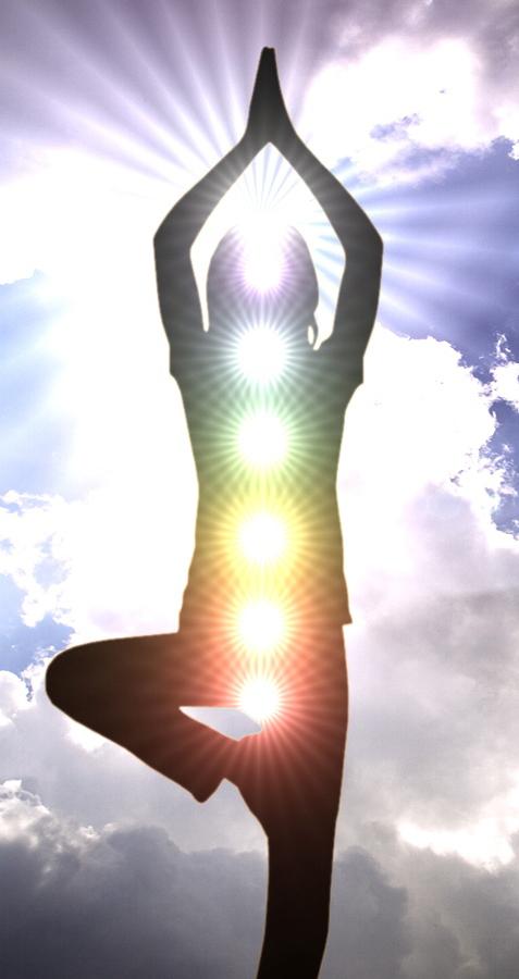 Saluto al Sole Yoga Chakra