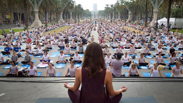 Foto dimostrativa del Master insegnanti yoga